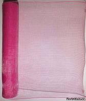 Сетка SK-Mesh, темно-розовая, на отрез в пог. м.