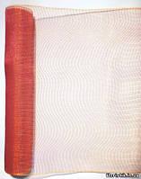 Сетка SK-Mesh, красная-золото (хамелеон), на отрез в пог. м.