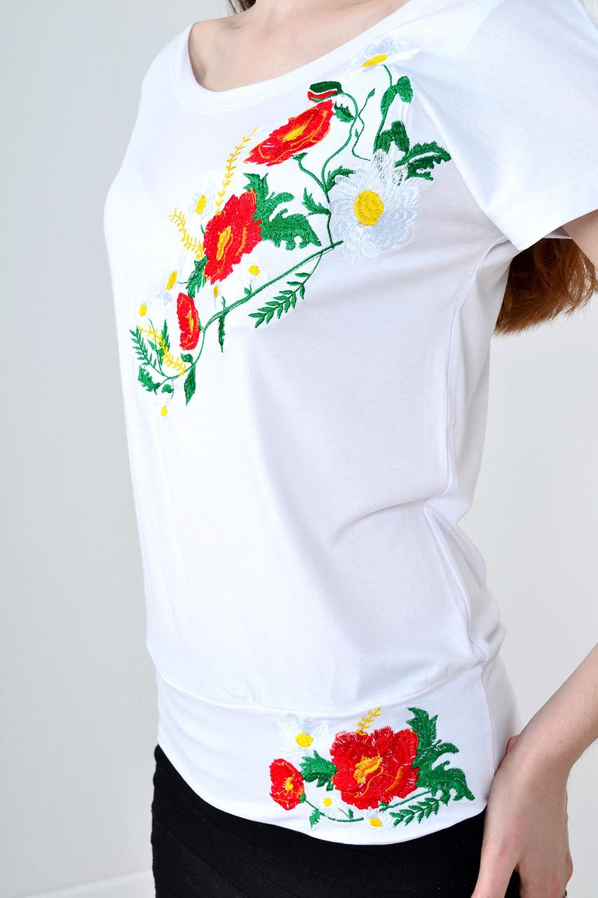 Стильная футболка вышиванка