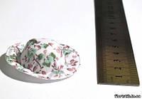 """Шляпка с рисунком """"Полевые цветы"""" 3 лён."""