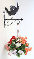 Настенная подставка для цветов Птица Пт-1