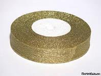 Лента парча золотая 20 мм.
