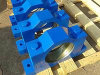 Изготовление корпусов подшипников барабана грейферных кранов
