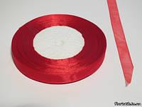 Лента органза 12 мм. красная
