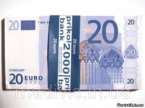 Сувенирные 20 евро