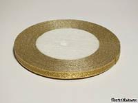 Лента парча золотая 5 мм.