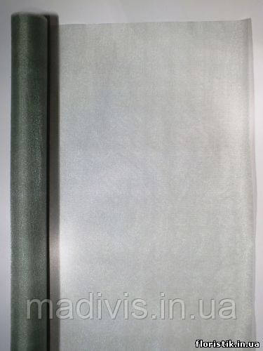 Органза сніг аспарагус (70 см. х 9 м)