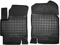 Полиуретановые передние коврики для Hyundai Accent III (MC) 2006-2010 (AVTO-GUMM)