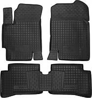 Полиуретановые коврики для Hyundai Accent III (MC) 2006-2010 (AVTO-GUMM)