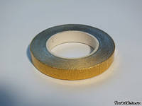 Тейп-лента металлик золотая