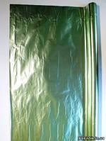 Полисилк бледно-зеленый, двухсторонний  на отрез в Кв.м.