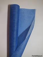 Флизелин синий