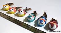 Птички на прищепке №17, 10 см.