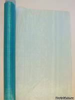 Органза голубая