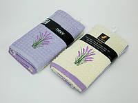 Набор махровых кухонных полотенец Mariposa Comfort с вешалкой 2 шт 45x70