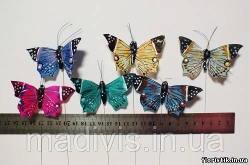 Бабочки на проволоке №62340