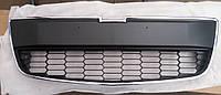 Решетка Шевролет авео/Chevrolet Aveo SDN/HB (T300) в бампер нижняя , фото 1