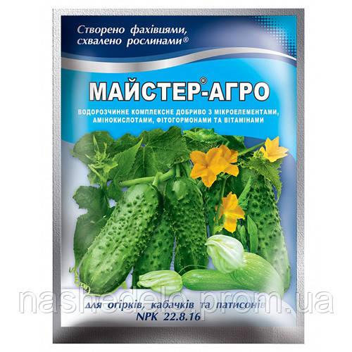 Майстер 100 гр 22-8-16 огірковий