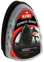 KIWI EXPRESS губка-блеск черного цвета с дозатором
