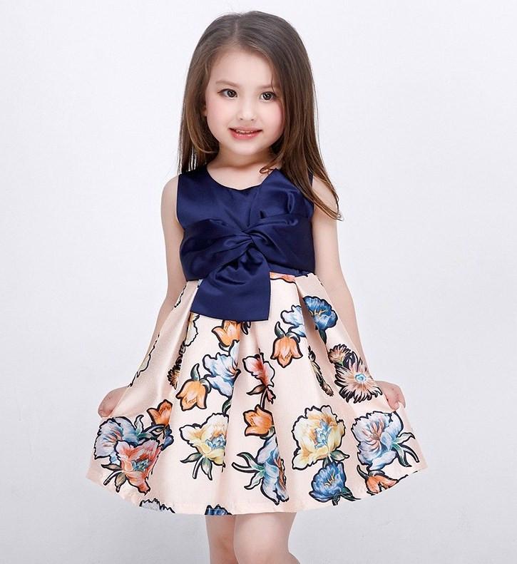 """Нарядное платье для девочки """"Бант"""""""