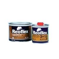 Акриловый грунт 3+1 Reoflex черный (0,5 л) + отвердитель для грунта 3+1 (0,17 л)