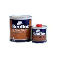Акриловый грунт 4+1 Reoflex красный (0,8 л) + отвердитель для грунта 4+1 (0,2 л)