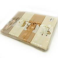Набор вафельных кухонных полотенец Hamdi 12 шт 45х70 с лентой