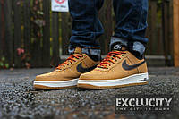 """Кроссовки Nike Air Force 1 Low """"Boot Wheat & Baroque Brown"""""""