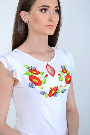 Летняя футболка блузка вышиванка, фото 2