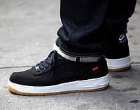 "Кроссовки Supreme x Nike Air Force 1 Low ""Black"""