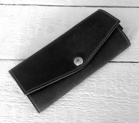 Видная ключница из натуральной кожи GBAGS A.0001-CH черный