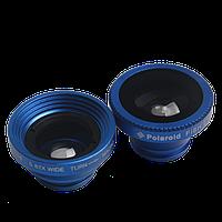 Набор объективов, линз для мобильных телефонов Fisheye, Macro/Wide
