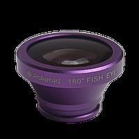 Объектив, линза для мобильного телефона Fisheye с универсальной клипсой