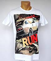 Белая футболка Need For Speed - №1384