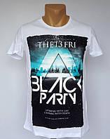 Мужская футболка Black Party - №1392