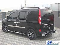 Боковые пороги для Renault Kangoo 2008+ ST Line