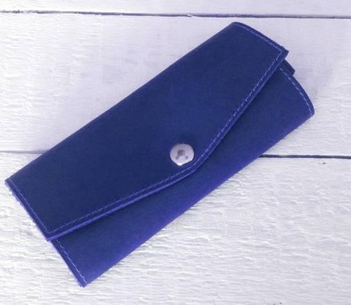 Потрясающая ключница из натуральной кожи GBAGS A.0001-CH синий