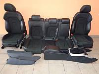 Салон Audi A4 B8 кожа