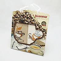 Подарочный набор кухонных полотенец в коробке Juanna 2 шт 50х70 Coffee, фото 1