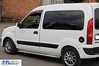 Боковые пороги для Renault Kangoo 2008+ d:60 ST Line