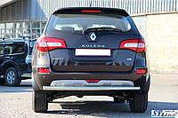 Задняя защита для Renault Koleos 15+ ST Line