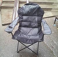 """Раскладное кресло""""кемпинг"""" с матрасом производство Украина"""
