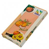 Подарочный набор кухонных полотенец в коробке Nilteks Coffee, Fruits 1 шт 45x65, фото 1
