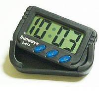 Часы автомобильные KENKO KK-613D с сеундомером