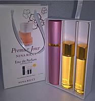 Подарочный набор женский Nina Ricci Premier Jour (Нина Риччи Премьер Жур) 3 по 15 мл