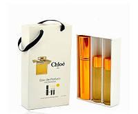 Подарочный набор женский Chloe Eau De Parfum (Хлое Парфюм) 3 по 15 мл
