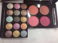 Тени Mac makeup kit + румяна №4, фото 1