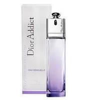 Женская парфюмированная вода Christian Dior Addict Eau Sensuelle (Кристиан Диор Аддикт Сенсуал) 100 мл