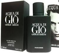 Мужская туалетная вода Giorgio Armani Acqua Di Gio Black Pour Homme (Аква Ди Джио Блэк Пур Хом) 100 мл