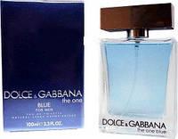 Мужская туалетная вода Dolce&Gabbana The One blue ( Дольче и Габбана зе ван блю ) 100 мл